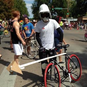 Stormtrooper bicycle